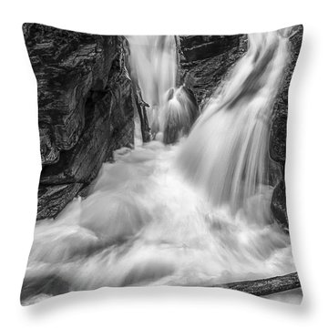 Two Into One Throw Pillow