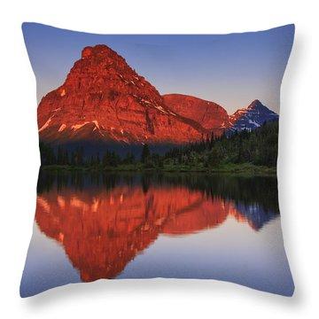 Two Medicine Sunrise Throw Pillow