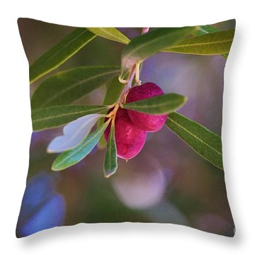 Two Olives Please Throw Pillow