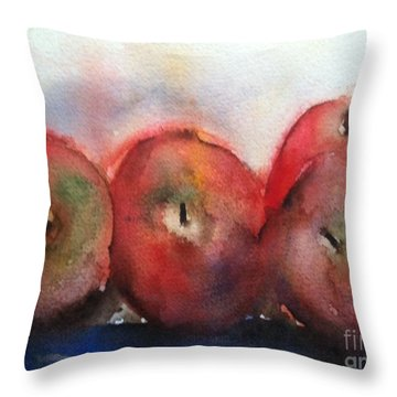 Two Pairs Throw Pillow by Sherry Harradence
