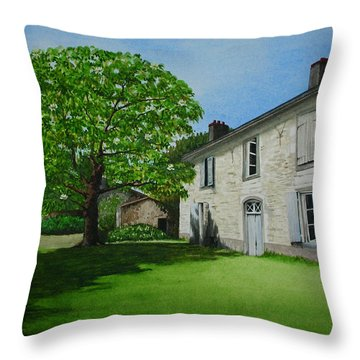 Two Perfect Weeks Throw Pillow
