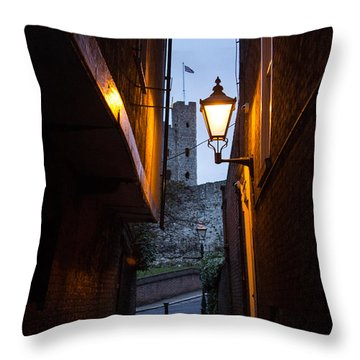 Two Post Ally Throw Pillow by Dawn OConnor
