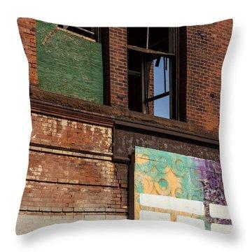 Two Types Of Art Throw Pillow by Karol Livote