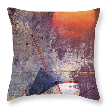 Two Ways Throw Pillow