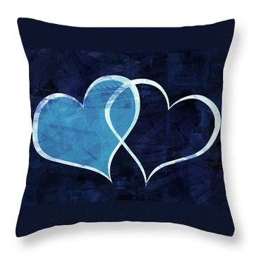 Aaron Lee Berg Throw Pillow featuring the digital art Two Will Become One by Aaron Berg