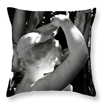 Two Young Graces Throw Pillow