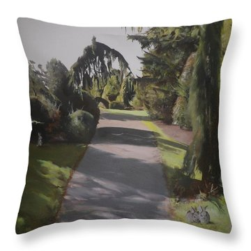 Two's Company Throw Pillow by Cherise Foster