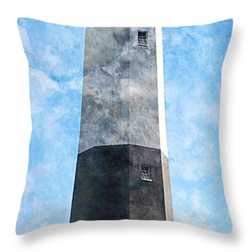 Tybee Island Light Throw Pillow