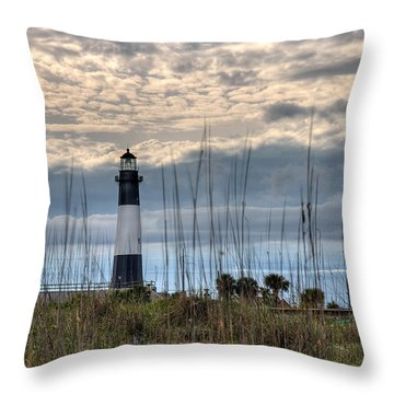Tybee Light Throw Pillow