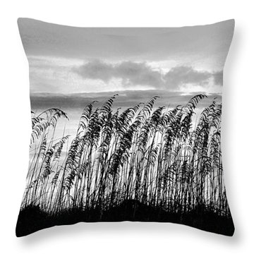 Tybee Lighthouse One Throw Pillow by Steve Archbold