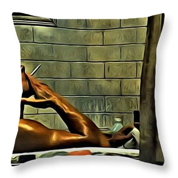 Tyler Durden Throw Pillow