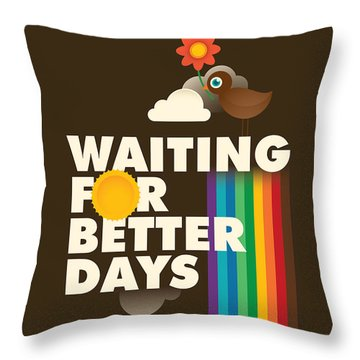 Beak Throw Pillows