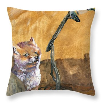Tyrah's Tale Throw Pillow
