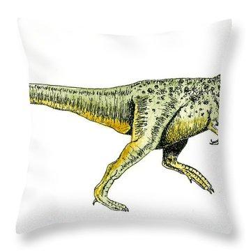 Tyrannosaurus Rex Throw Pillow