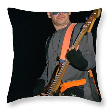 U2-adam-gp24 Throw Pillow by Timothy Bischoff