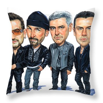 Bono Throw Pillows