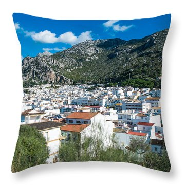 Ubrique Throw Pillow