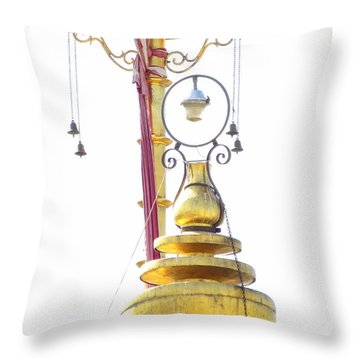 Udaipur Temple Top Throw Pillow