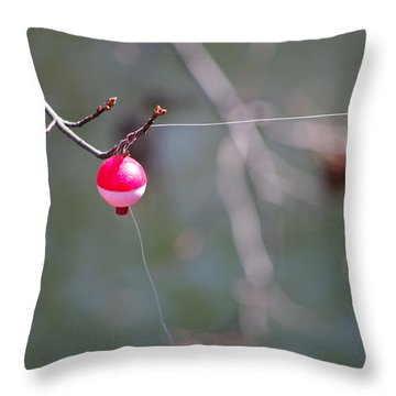 Throw Pillow featuring the photograph Ughh by Greg Graham