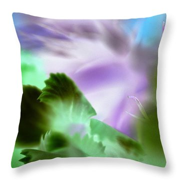 Ugly Duckling Throw Pillow by Christine Ricker Brandt