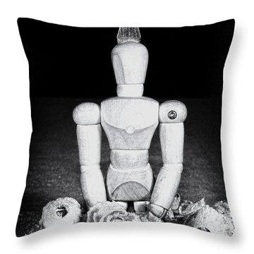 Uh Oh Screwed Again Throw Pillow by Tom Mc Nemar