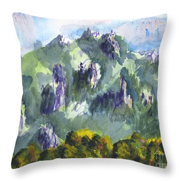 Uintah Highlands 1 Throw Pillow