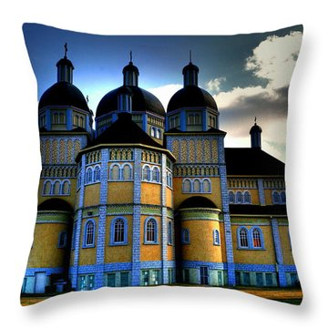 Ukrainian Catholic Church Of The Immaculate Conception Throw Pillow