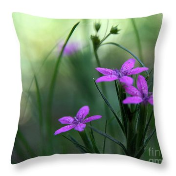 Ultra Violet Throw Pillow