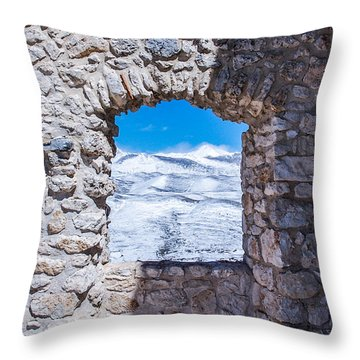 A Window On The World Throw Pillow