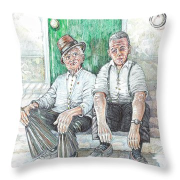 Forenza Vita   Na Fumat E Na Risat Throw Pillow