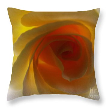 Throw Pillow featuring the photograph Unaltered Rose by Robyn King