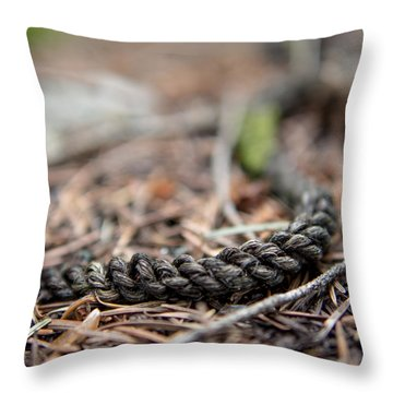 Throw Pillow featuring the photograph Unbound by Aaron Aldrich