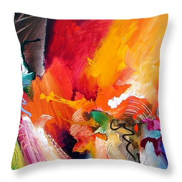 Unbounded Ecstasy Throw Pillow