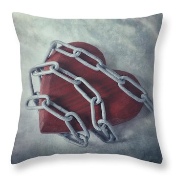 Unchain My Heart Throw Pillow by Joana Kruse