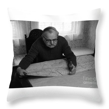 Uncle Charles Throw Pillow