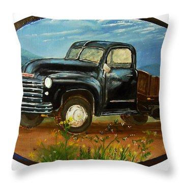 Uncle Mac's Pride Throw Pillow