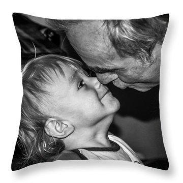 Unconditional Affection - By Sabine Edrissi  Throw Pillow