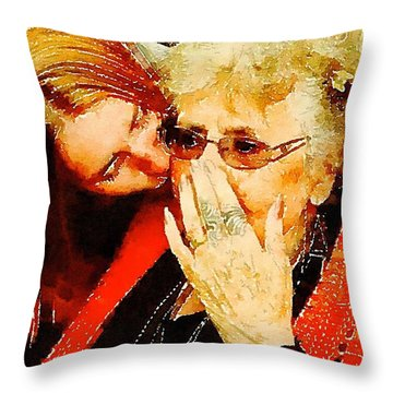 Unconditional Throw Pillow