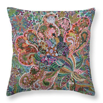 Undaunted Throw Pillow