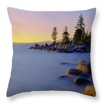 Under Clear Skies Throw Pillow
