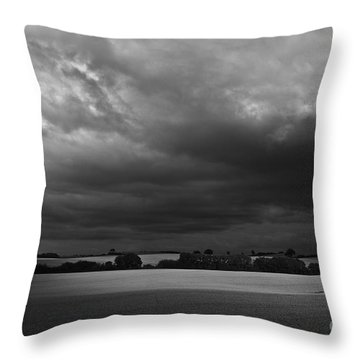 Under Dark Sky Throw Pillow by Heiko Koehrer-Wagner