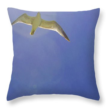 Under His Wings II Throw Pillow