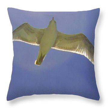 Under His Wings IIi Throw Pillow