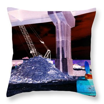 Under Pass Inverted Throw Pillow by Jamie Lynn