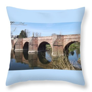 Under The Arches Throw Pillow