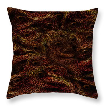 Under The Bed Throw Pillow