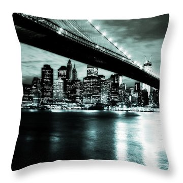 Under The Bridge Throw Pillow