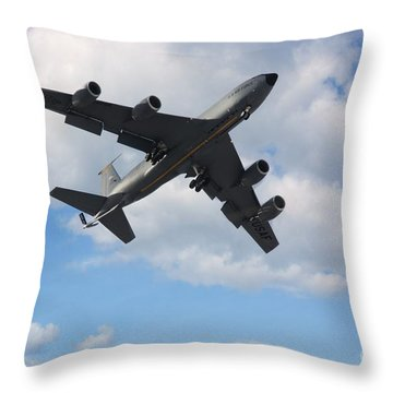 Under The Cloud Throw Pillow