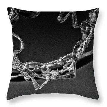 Under The Hoop Throw Pillow