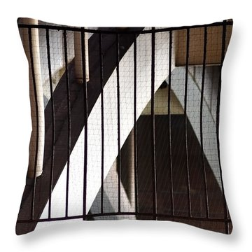 Throw Pillow featuring the photograph Under The Overground by Rona Black